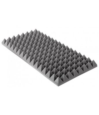 PU Akustická pena Pyramídy  500mm x 1000mm x 70mm